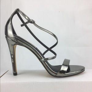 Steve Madden Feliz Metallic Strap Sandal High Heel